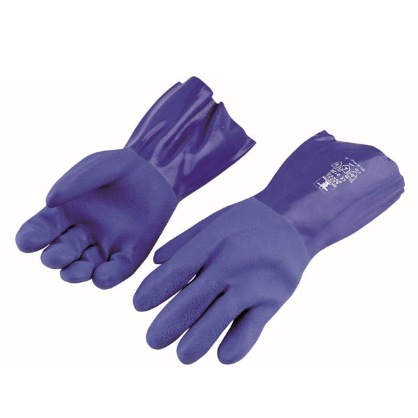 Guy Cotten Blue Gloves, Size:- Large (8.5), 1 Pair