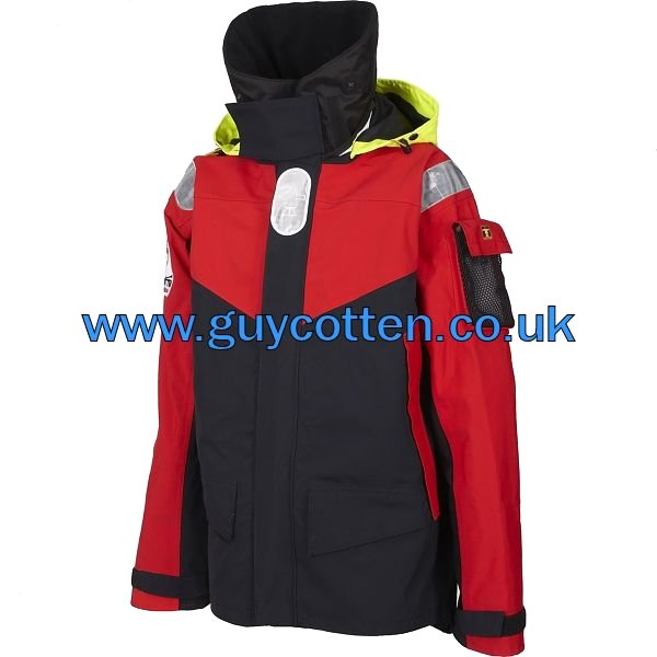 Fasnet Jacket - Colour: Red/Black - Size 04) X Large