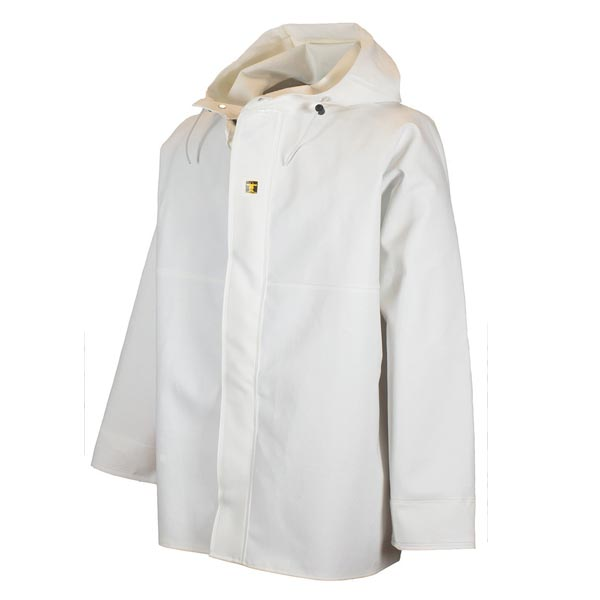 Guy Cotten Gamvik Jacket- Colour: White - Size 01) Small