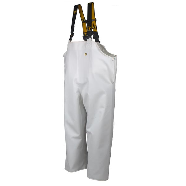 Hitra Bib & Brace Trousers Colour: White