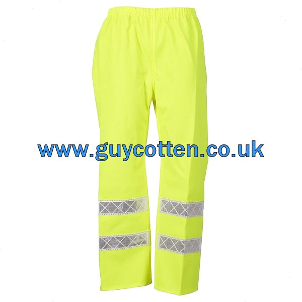 Pouldo Trousers (High Viz) EN 471 - Size:01) Small
