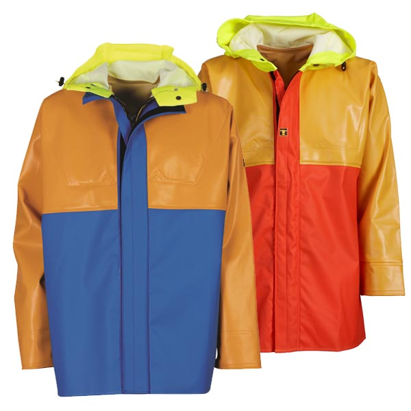 Isopro Jacket - Colour: Yellow/Blue - Size 01) Small