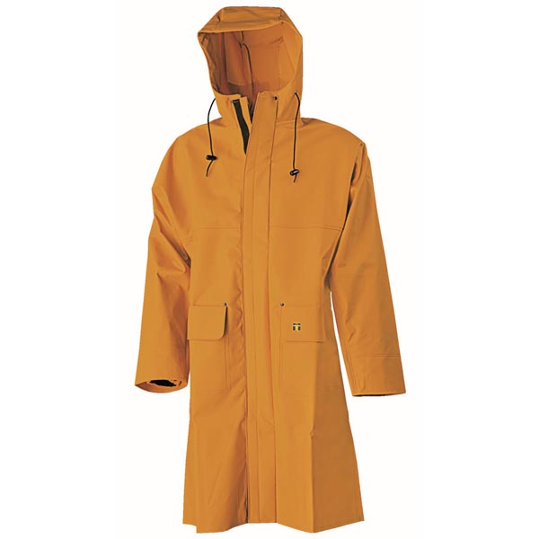 Ostreicole Coat (Nylpeche) - Colour: Yellow - Size 02) Medium