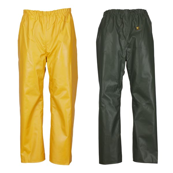 Pouldo Trousers (Nylpeche) - Colour: Yellow - Size 03) Large