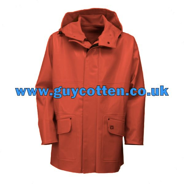 Guy Cotten Orange Rosbras Jacket WITHOUT Magic Hood - Size 05) XX Large