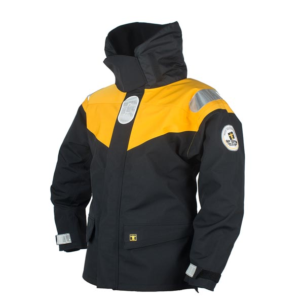 Racing Jacket - Black/Yellow Size 01) Small
