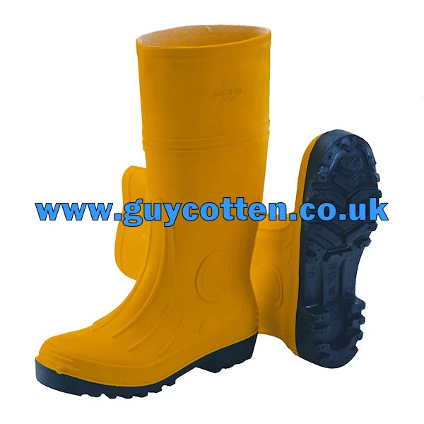 Guy Cotten GC Admin Safety Boots - Yellow - Size 7